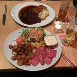 Sauerbraten und Rostbeef
