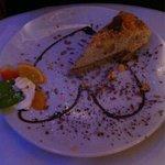 Chocolate orange cheese cake
