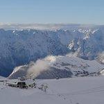Above Les Deux Alpes
