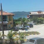 Vista da Suíte Costa Verde Mar