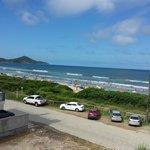 Vista da Suíte Aroeira da Praia