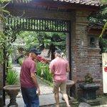 Entrance to Griya Jungutan