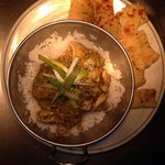 Thai green curry from the Wednesday curry night