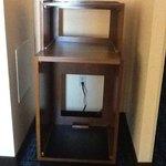 Empty Microwave/Fridge Stand