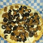 white sauce pizza