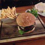 Big Sam burger- very tasty!