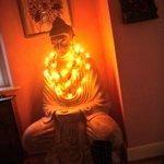 A Buddha welcom.