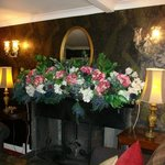 Marvellous mantlepiece flower arrangements