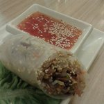 Spring roll. I love this!
