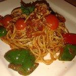One of their spaghetti.