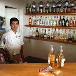 El Barman muy amable y atento.