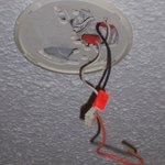 Smoke detector missing?