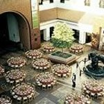 the main courtyard, where they have music and special events