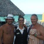 Con Vivian del bar la Picúa
