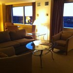 Sitting area executive suite room 1628