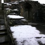 Snow on the battlements !