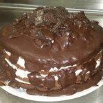 New Double Oreo fudge cake