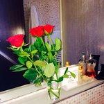 Beautiful bathroom in room 302