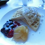 Waffles at Baccarat