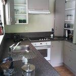 Kitchen in 2 bedroom apartment.