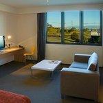 Alpha Suite Lounge Area
