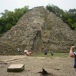Main Coba pyramid