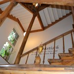 Restored historic interior