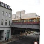 Trainline from my window
