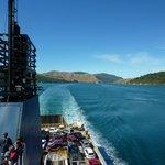 Bluebridge Straitsman on the way to Picton