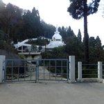 Peace pagoda ,Darjeeling