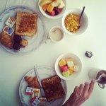 petit déjeuner buffet continental
