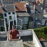 Подъем на крышу
