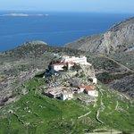 View from Agia Matrona Monastery to Agia Triada Monastery