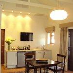 Kitchenette in Shiraz Cottage
