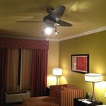 Ceiling fan, a nice touch