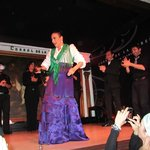 Great flamenco dancing and music