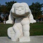 some sculpture
