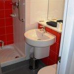 Das Badezimmer(chen): klein, aber fein!