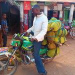 "A real ""cargo"" motor bike"