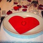 Wonderful Valentines meal