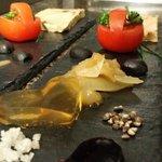 Foie gras St Valentin
