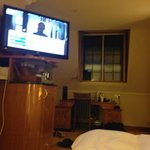 TV view from the bed