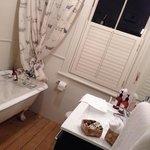Romo room - outside room's bathroom