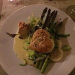 Asparagus Hearts and Chardonnay Dressing