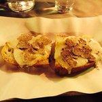 Bruschetta con pecorino e tartufo!!!