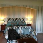 Bed in one of main house rooms