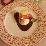 bavarese al cioccolato e fragole