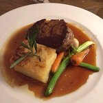 Fillet of beef with dauphinois for main