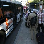 airport bus stop 100 metres from Giraldilla