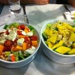 Insalata esotica e insalata golosa